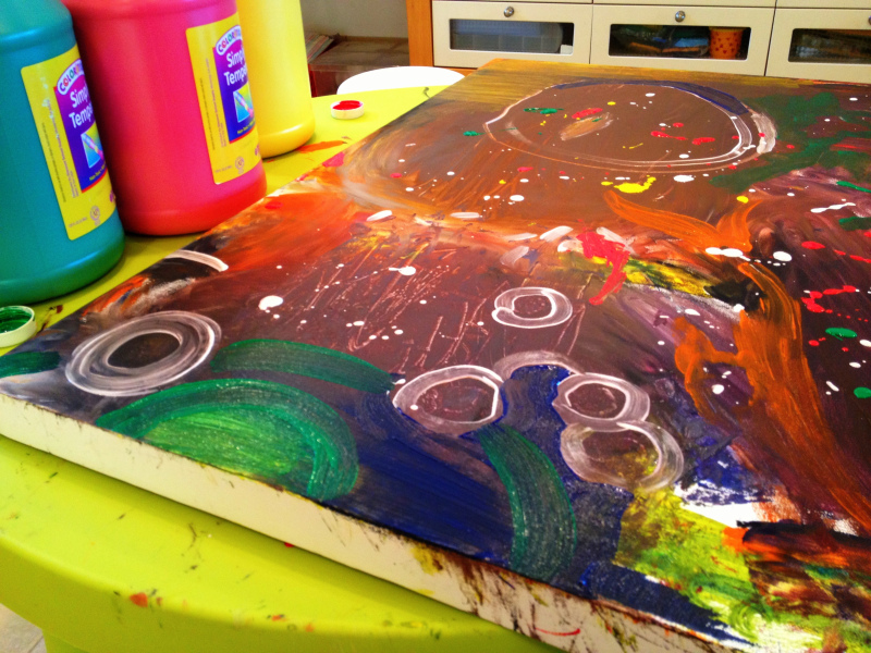 Preschool Collaborative Painting And Easy Craft Ideas For Kids The