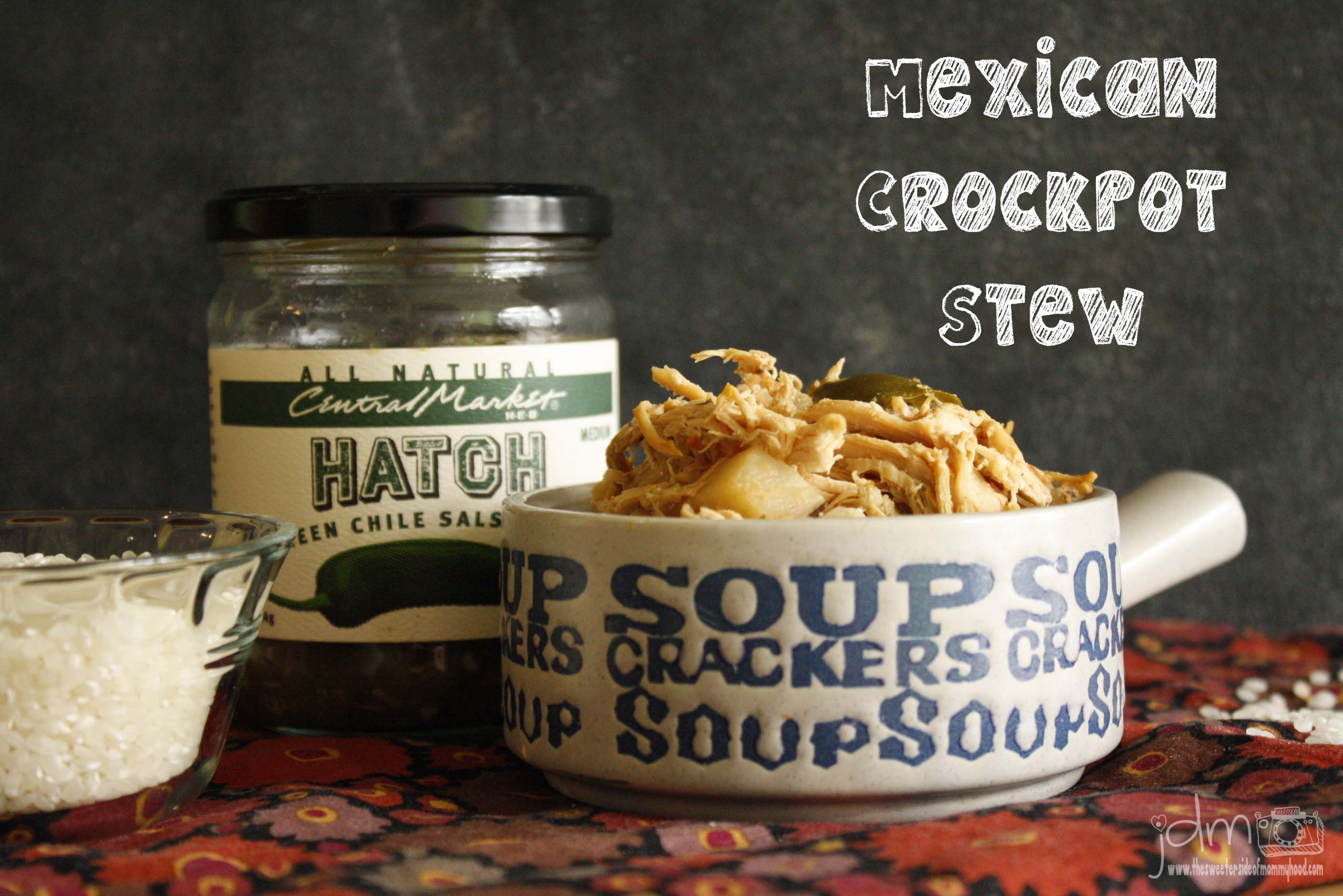Mexican Crockpot Stew and a Weekend Hashtag Project
