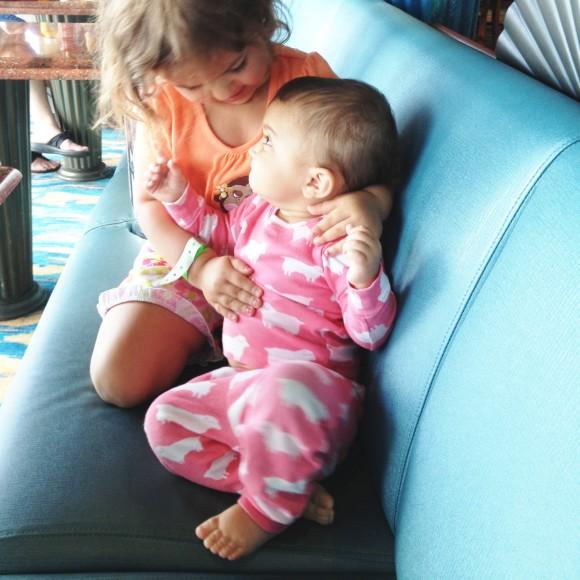 Sister-love.