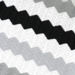 Large Stripe Chevron Blanket Pattern!