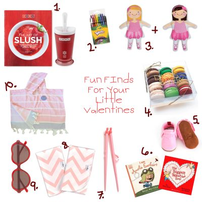 10 Valentine Favorites For Little Girls
