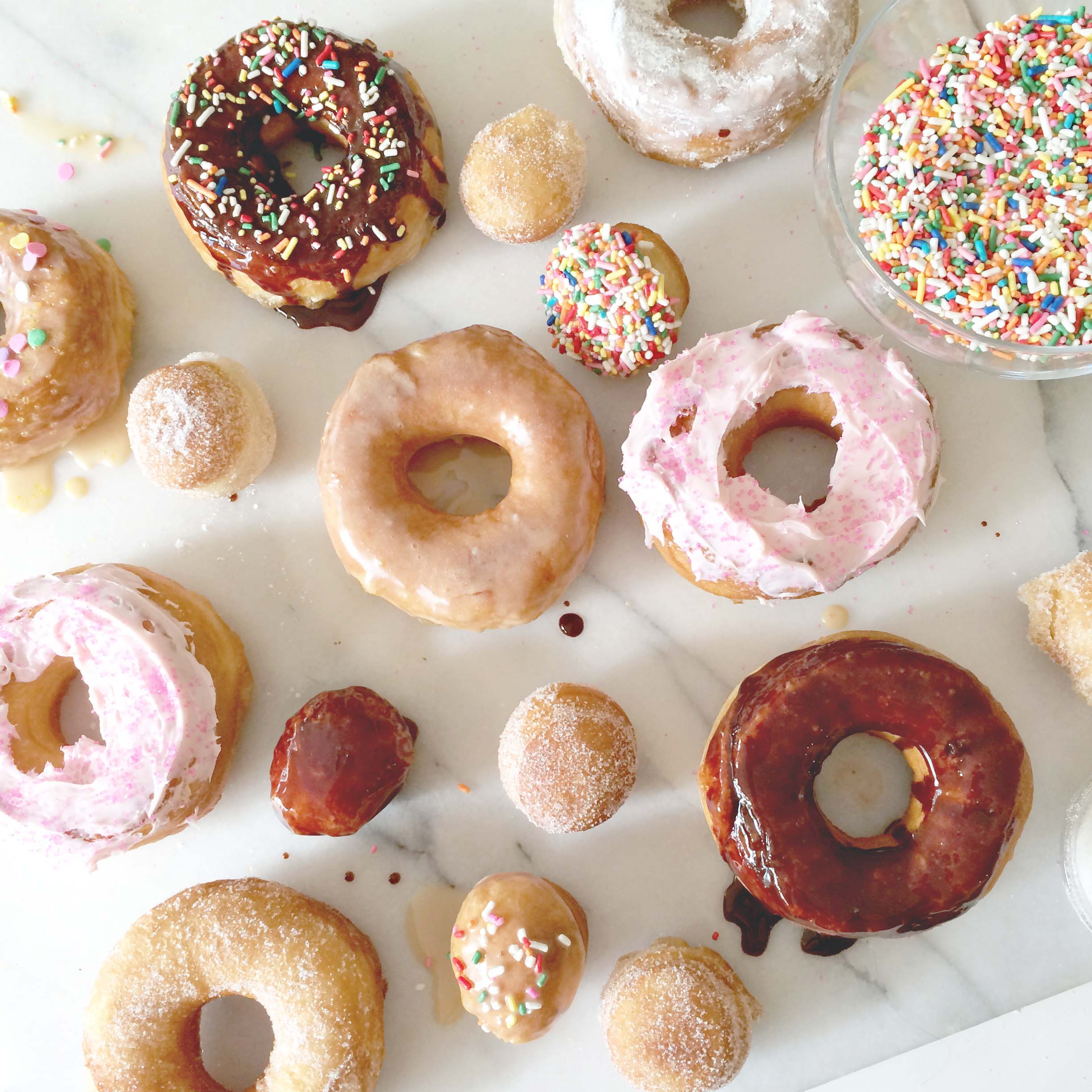 """The Sweeter Side of Mommyhood » Super Easy """"Homemade"""" Doughnuts"""