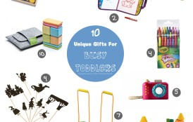 10 Unique Gift Ideas For Busy Toddlers