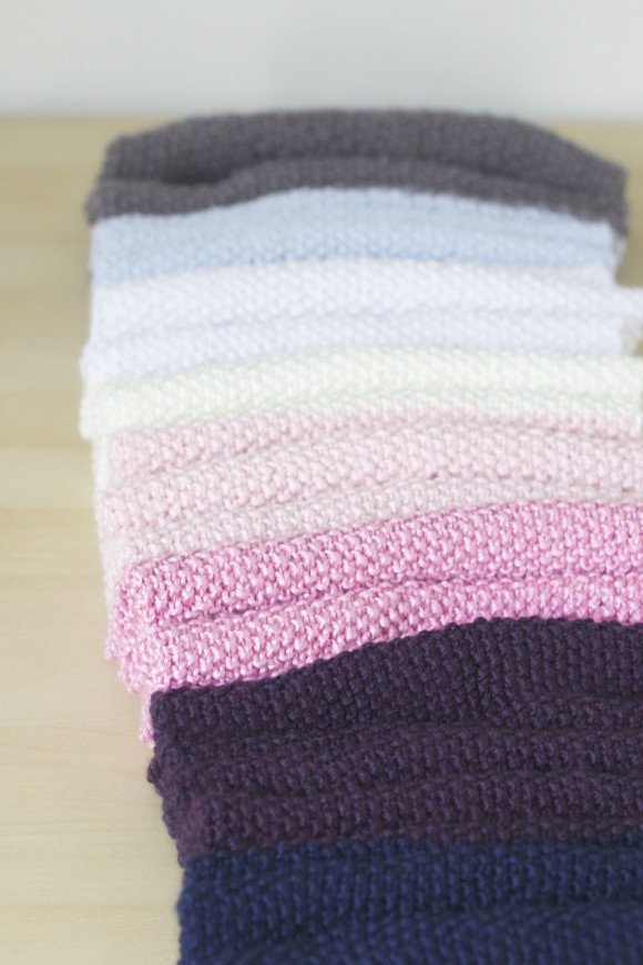 Knit Wrap Stitch Together : The Sweeter Side of Mommyhood   Knit Seed Stitch Wrap