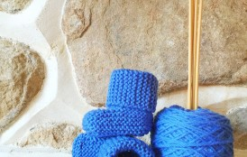 Pattern Review: Knit Baby Booties