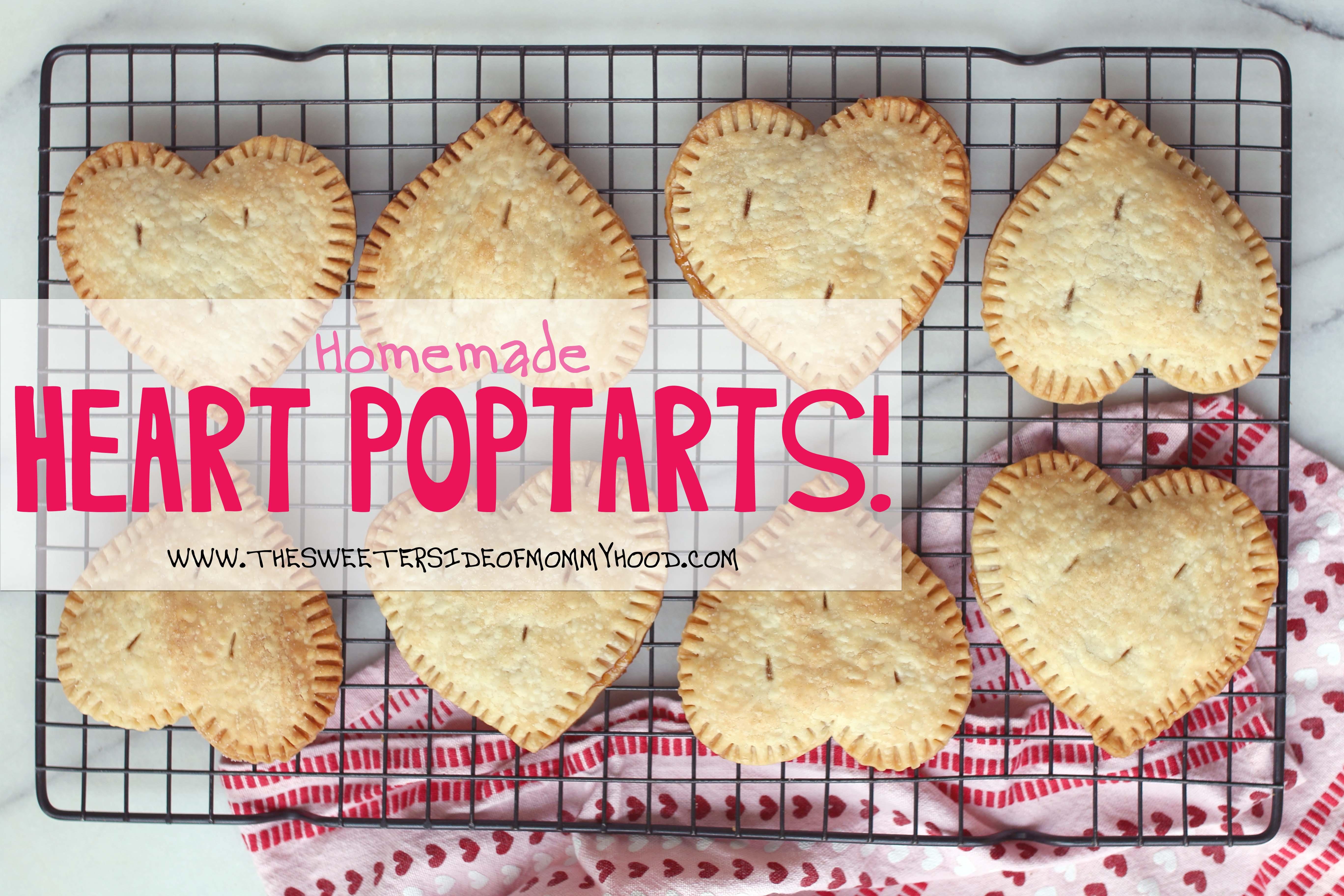 Homemade Heart Pop Tarts