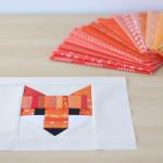 Fancy Fox Quilt : Work In Progress