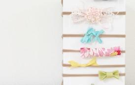 "DIY Baby Headbands (With soft ""no dent"" band!)"