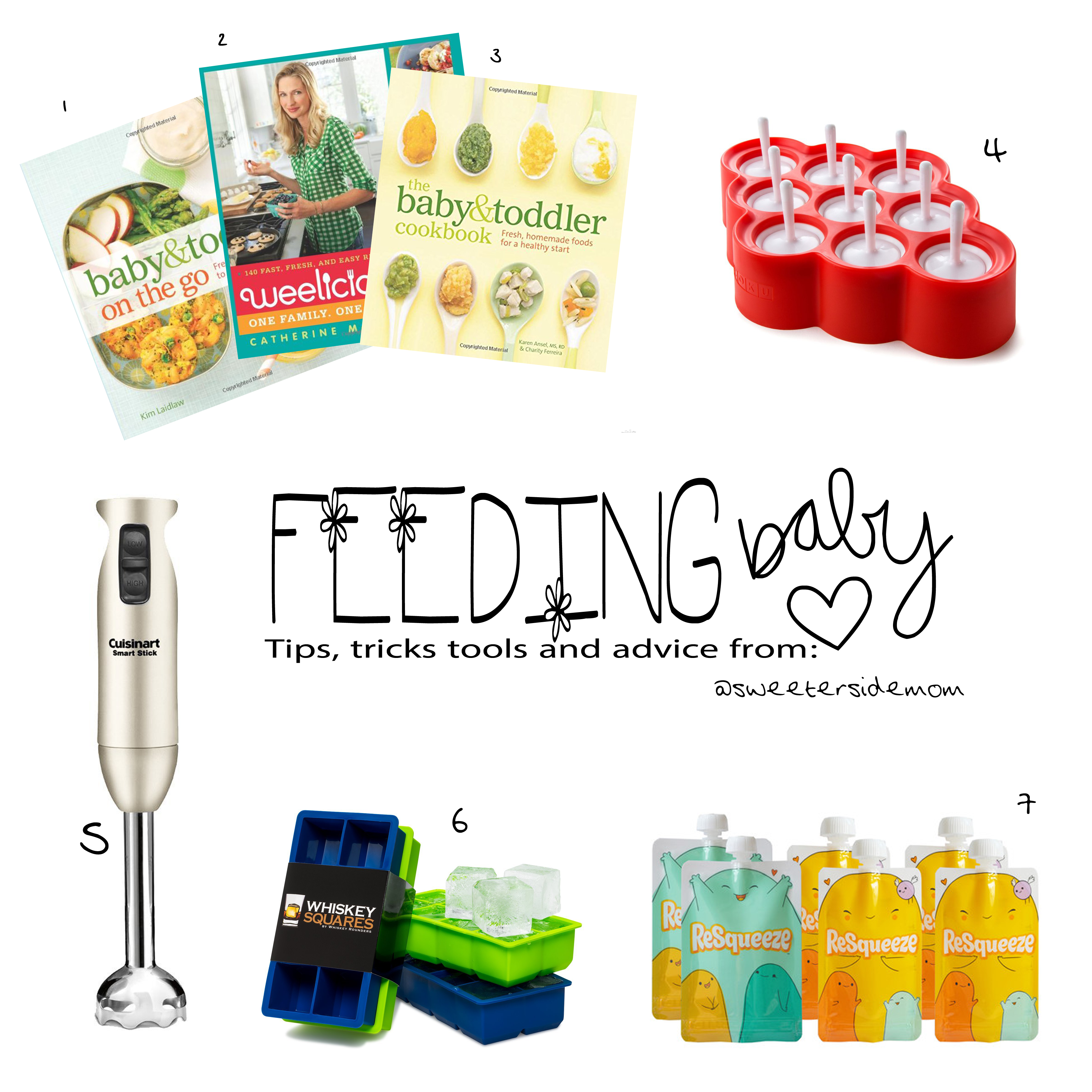 FEEDING BABY (purees and Baby Led Weaning)
