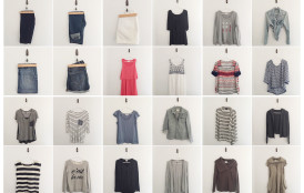 The Capsule Wardrobe Experiment (for moms!) Part 2