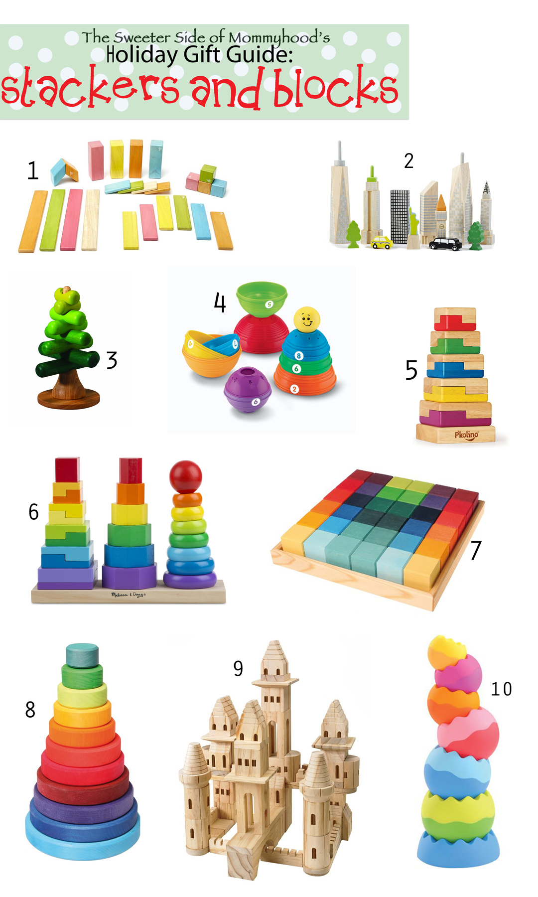 12 Days of Holiday Gift Guides: Stackers and Blocks
