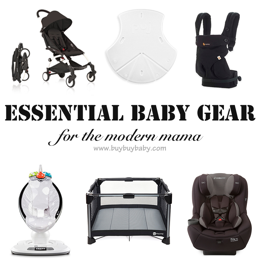 Essential Baby Gear: What to put on your registry!