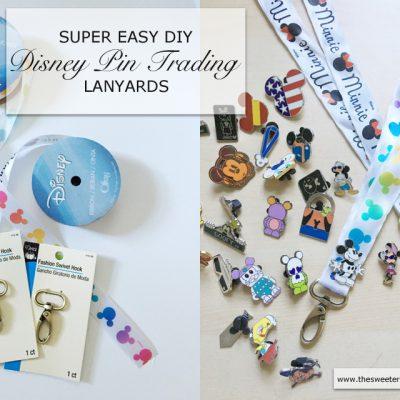 Super Easy DIY Disney Pin Trading Lanyards