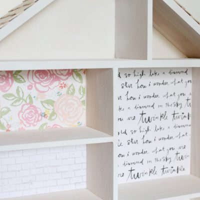 DIY Dollhouse Part 2: How To Wallpaper A Dollhouse Like A Pro