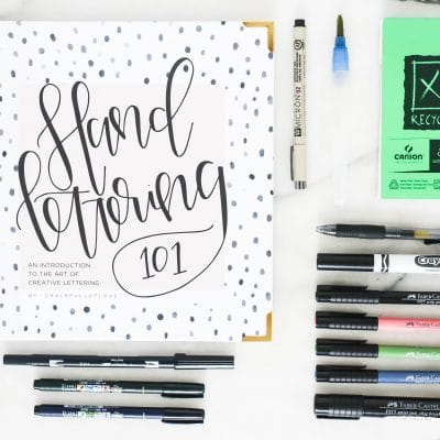 Create Your Own Learn To Hand Letter Kit – to keep or give!