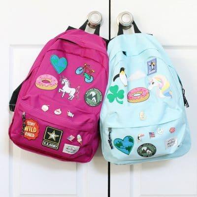 DIY Backpacks for Back to School