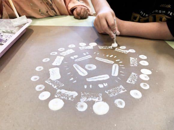 Radial Symmetry with Preschool and Kindergarten