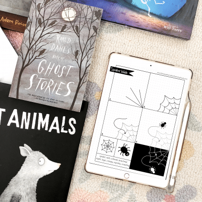 Halloween Read-Aloud Picture Book Recommendations and Halloween Directed Draws