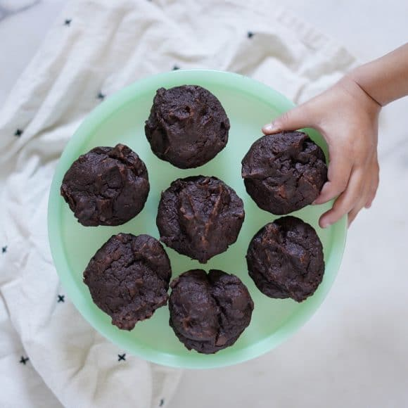 Addicting Two Ingredient Chocolate Muffins