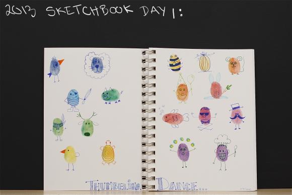 Sketchbook day 1