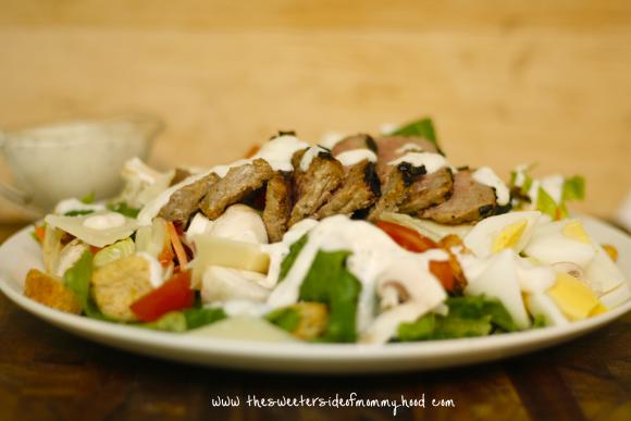 Steak salad 3