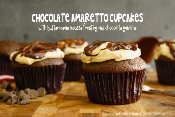 Chocolate Amaretto Cupcakes 7