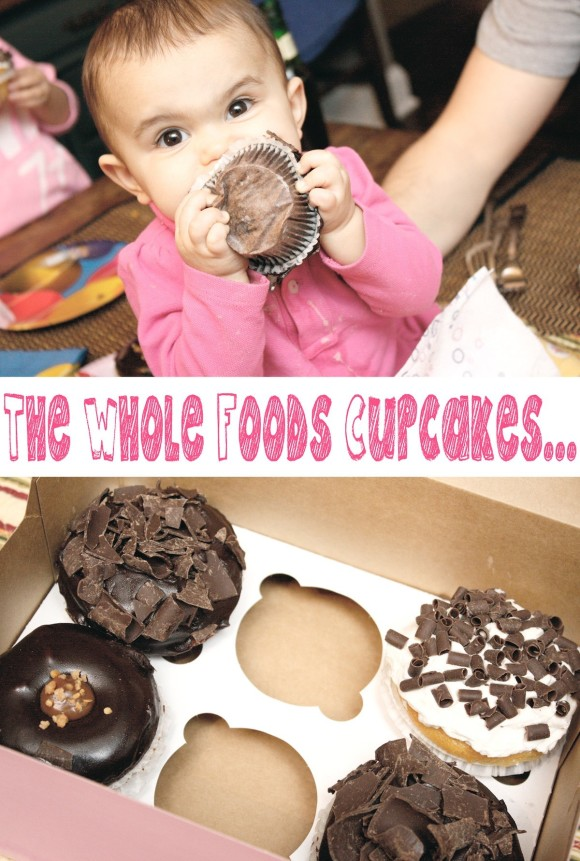 Wholefoods Cupcakes for G
