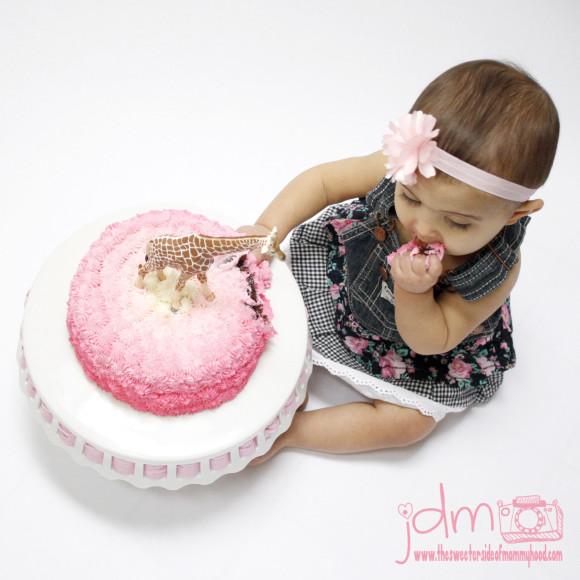 smash cake for IG