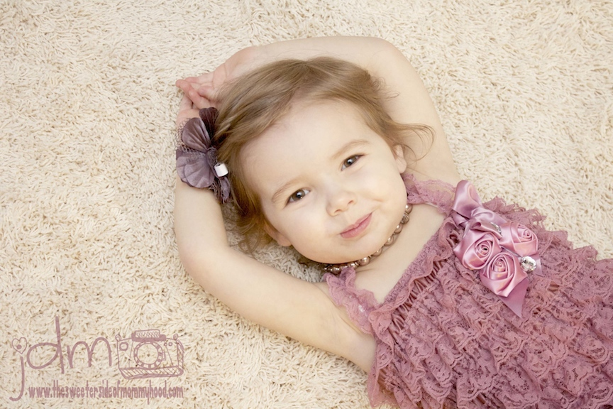 Toddler Photo Session: Jewelry and Lace
