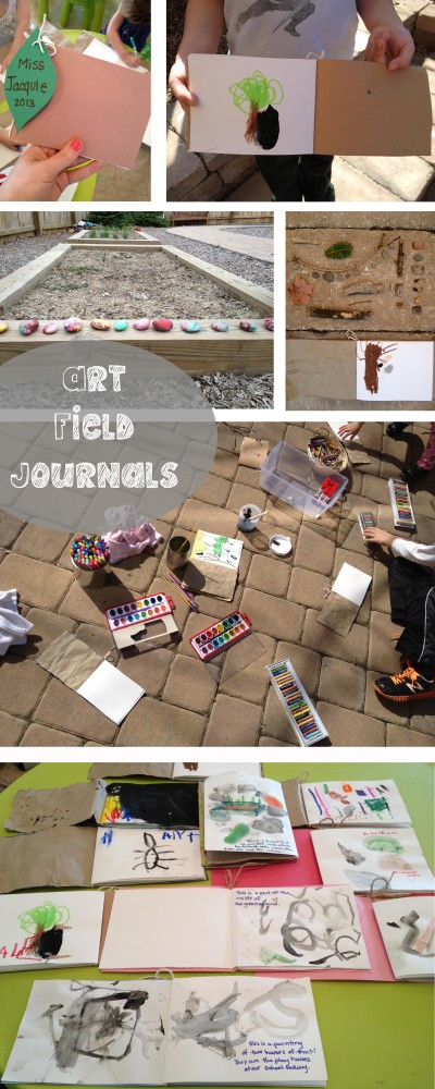 art field journals
