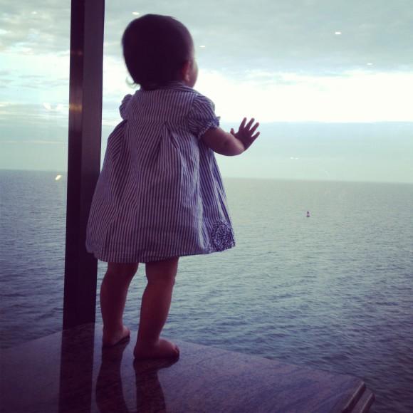 Ocean views for days.