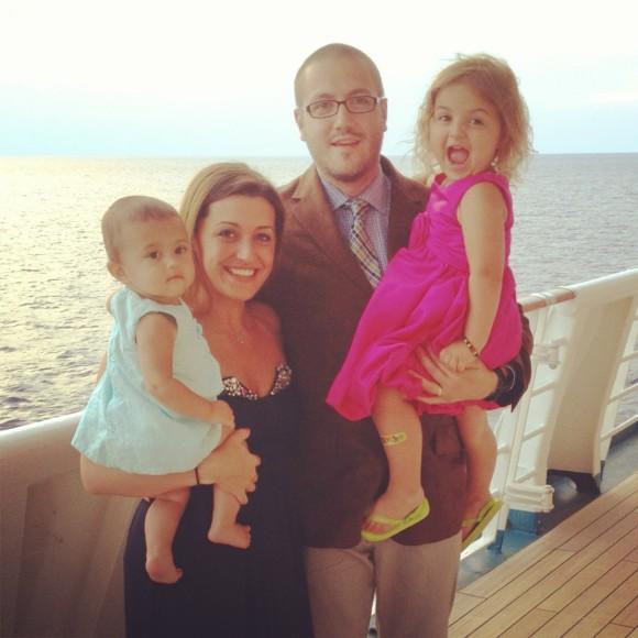 My sweet little family.