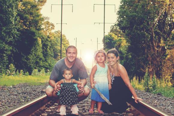 The Sweeterside of Mommyhood Family Photo
