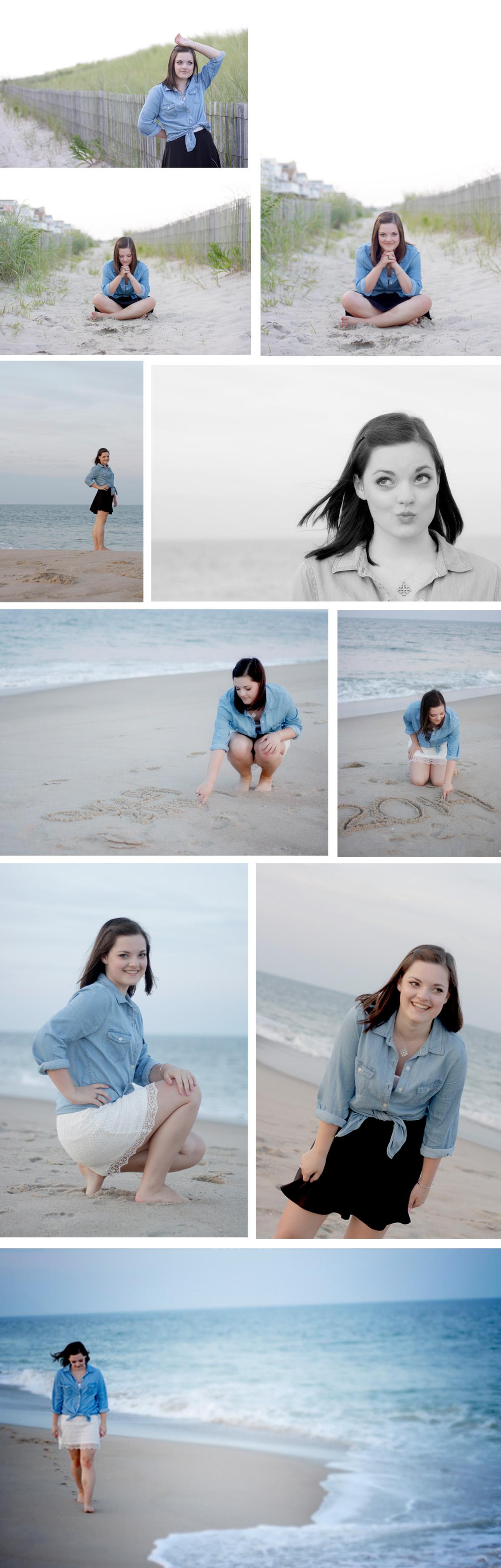 Sarah Senior Pictures Collage