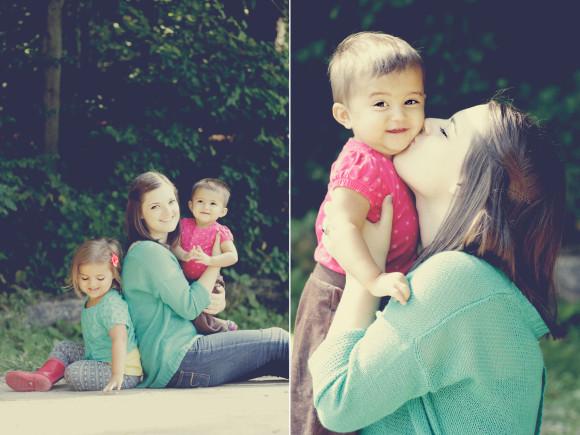 sarah and the kids
