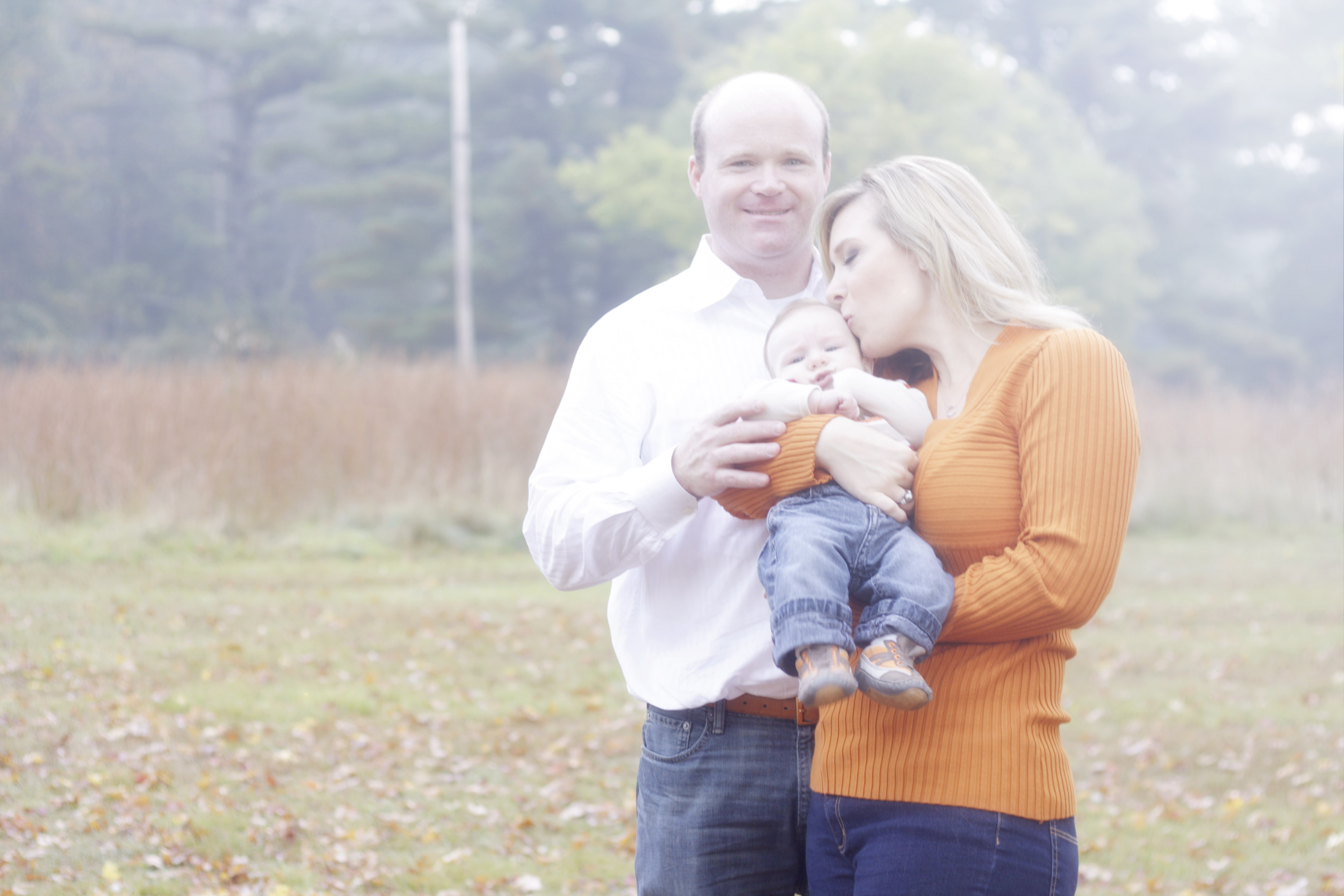 Styled Fall Family Photo Session :: Pittsburgh Family Photographer