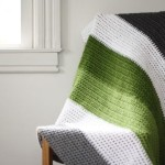 Crochet Color Block Blanket Pattern :: Now Available!