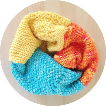 knit cowl image 1
