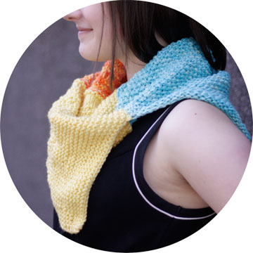 knit cowl image 3