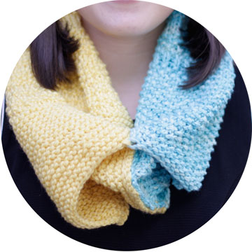 knit cowl image 4
