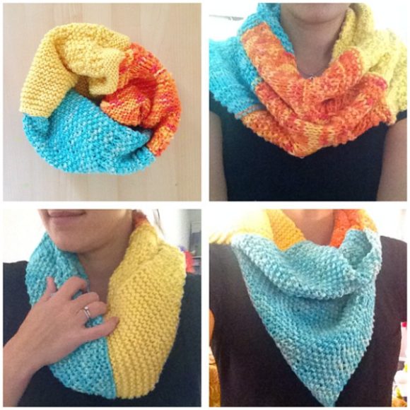 knit cowl image 5