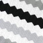 Large Stripe Chevron Blanket Pattern!