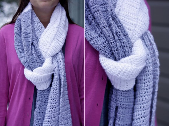 huge wrap scarf pattern post007