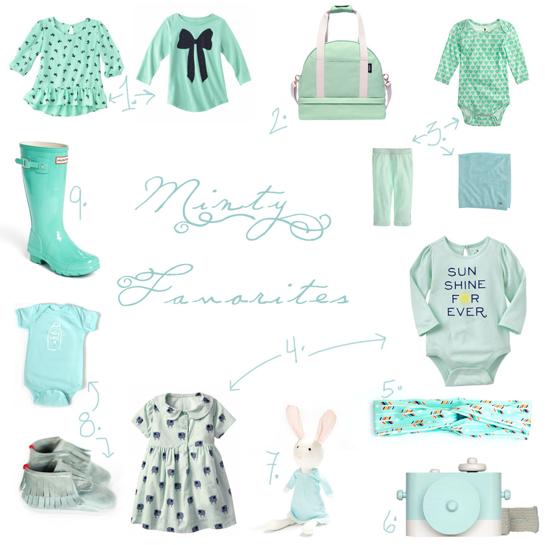 minty favorites