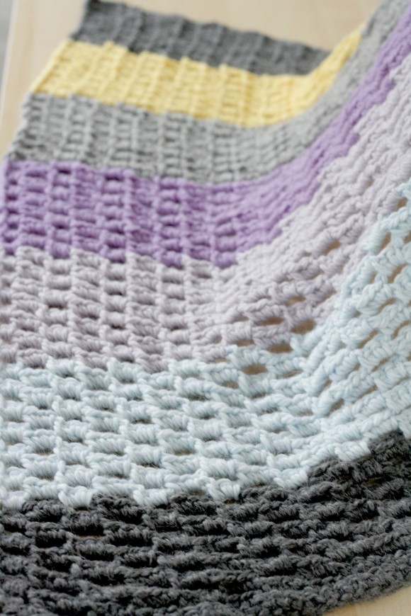 Honeycomb Blanket Pattern007