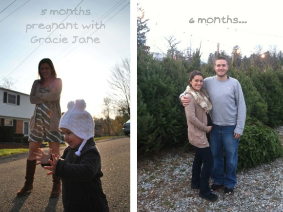 Pregnant 5 and 6 months