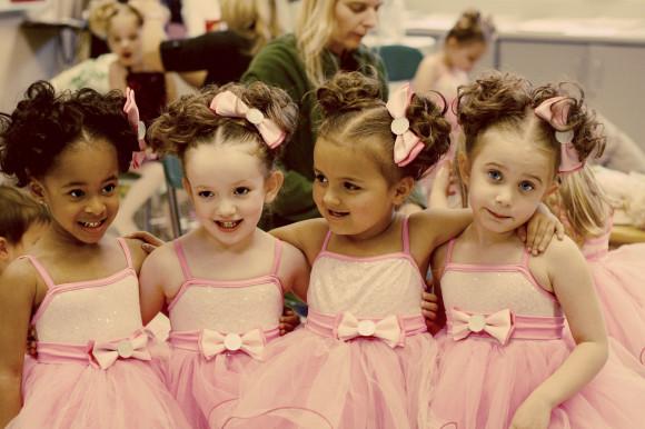 recital four girls