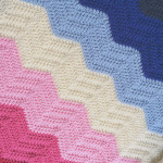 Crochet Chevron Blanket Pattern