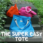 Super Easy Duck Canvas Tote