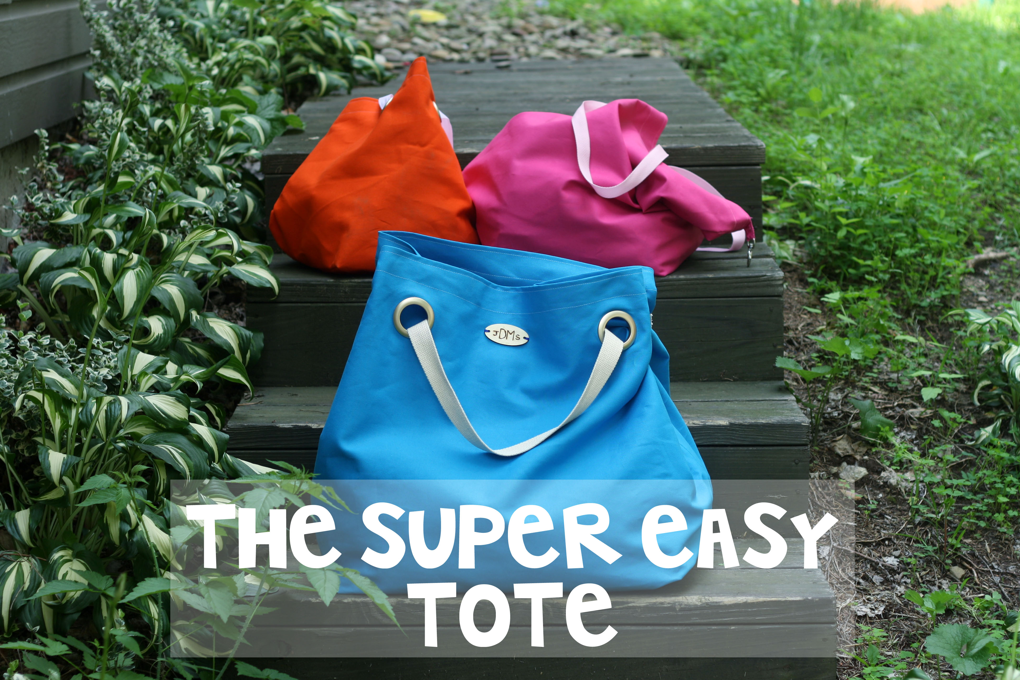 07aeae17efe9 Super Easy Duck Canvas Tote - The Sweeter Side of Mommyhood